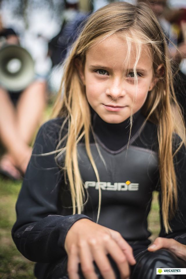#girl #kid #blonde #colorshake #warsaw