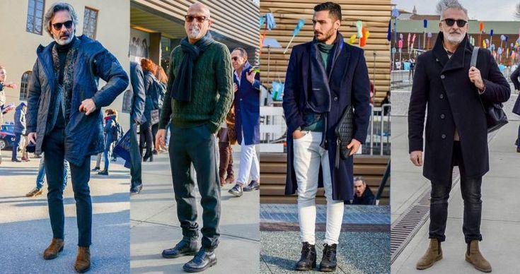 冬のメンズファッションにおける超・定番アイテム「ブーツ」。一口にブーツと言っても素材やデザイン、カラーリング、そして着こなしは多種多様だ。今回は「ブーツ」にフォーカスして、注目の着こなし&アイテムを紹介! 黒ブーツ×チェスターコート 起毛感のあるチェスターコートにタートルネックニットを着込んだ、上品な雰囲気を漂わせるコーディネート。ブラックのワークブーツにはクリーンなホワイトパンツを合わせてメリハリのある印象に。 サイドゴアブーツ×ジャケパンスタイル ミドル丈のキルティングコートに、起毛感のあるベスト、テーラードジャケットを着込んだマルコ・ザンバルド氏の着こなし。全体をダークトーンで統一することによってまとまりのある雰囲気に。ブラックスキニージーンズはアンクル丈にカットオフし、こなれ感をプラス。ヒールのあるサイドゴアブーツがスマートな足元を演出している。 F.LII Giacometti(フラテッリ ジャコメッティ) サイドゴアブーツ 詳細・購入はこちら サイドゴアブーツ×ブラックジーンズ ダークネイビーのコートにブラックジーンズを合わせたダークトーンコーデ。インナーに着...