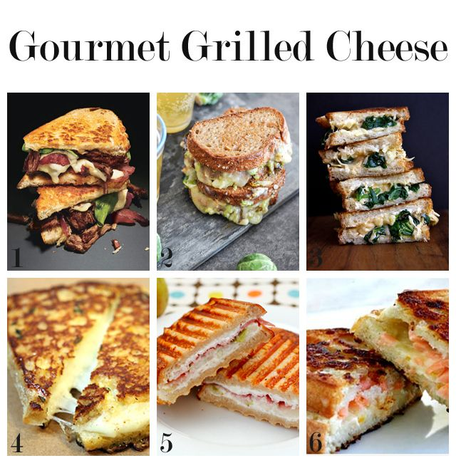"Gourmet Grilled Cheese ""Pinspiration"""