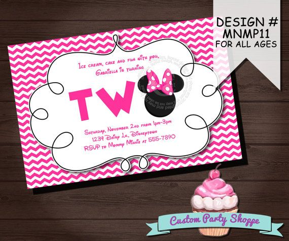 144 best minnie mouse bday theme images on pinterest minnie mouse minnie mouse birthday invitation minnie mouse party ideas minnie invitation custom party shoppe solutioingenieria Choice Image