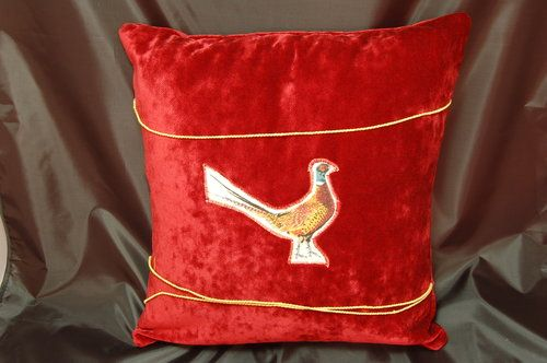 pheasant cushion.JPG