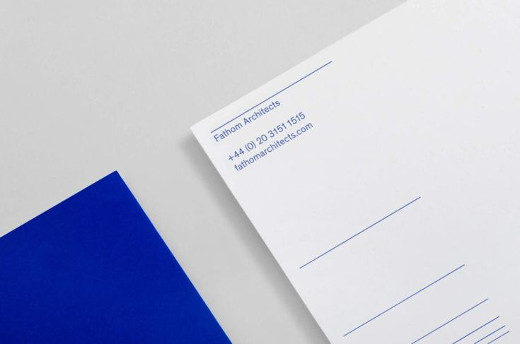 Fathom Architects. Branding the architects who think deeply – dn&co.