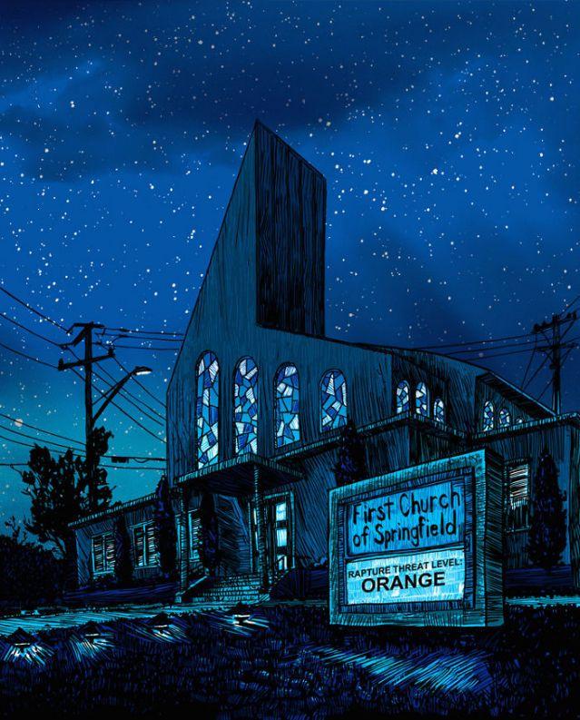 """Decadent Springfield"" by Tim Doyle, USA."