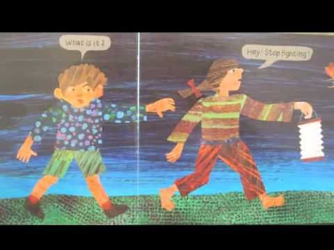 The Very Lonely Firefly by Eric Carle Read aloud with sound effects and closed captioning to read along