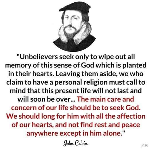 the life and impact of john calvin on christianity The effects of the new approach to the arts and scholarship were by this time  in many countries luther had a strong following and his friends were making use.