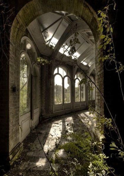 Beautiful abandoned places...Hawkhurst school for girls, UK.