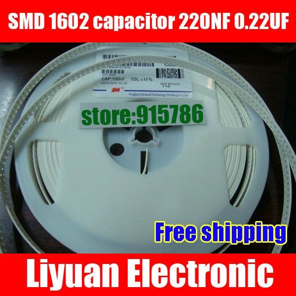 Free Shipping Smd 1206 Capacitor Ceramic Capacitor Mlcc 220nf 0 22uf 224k Attention Valid Discount 0 Buy Capacitors Cooking Timer Free Shipping