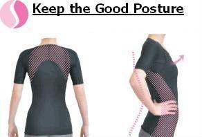 Back corretor de postura para homens, correção da postura camisa feita no japão