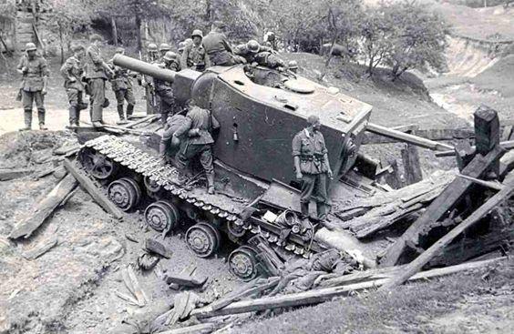 KV-2 Heavy Artillery Tank.