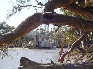 PS Adelaide on the Murray River