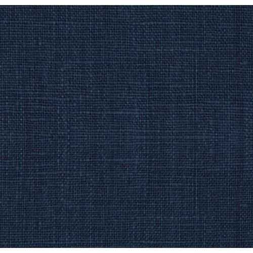 100 Luxe Linen Washed Navy Blue | Fabric Traders