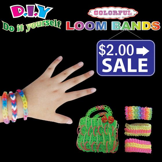Panache DIY Loom Bands Kit