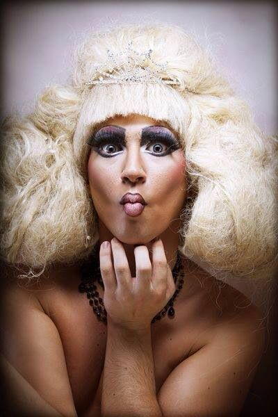Make up drag queen caracterización