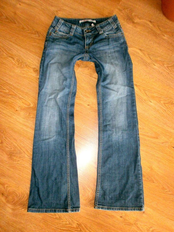 ONLY CREWOIN STRAIGHT Damen Jeans Gr. 34 XS W26 L32 Jeanshose