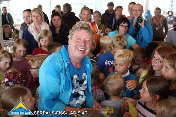 Volker Rosin in Serfaus-Fiss-Ladis, Sommer 2014