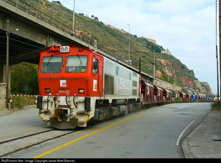 RailPictures.Net Photo: 254.02 FGC 254 at Barcelona, Spain by Jaime Marti Barroso