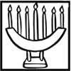 Fun printable Kwanzaa coloring pages for kids - Kwanzaa Candles
