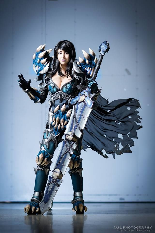 Death Knight Tier 15 from World of Warcraft Cosplayer: Rawarhii Cosplay