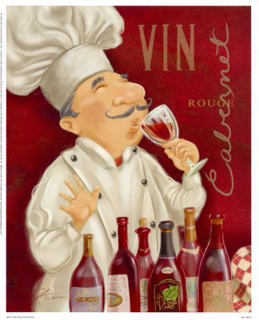 Cooking with wine.... always...