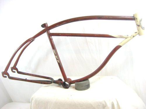 Vintage-COLUMBIA-Marco-5-STAR-26-Globo-SCHWINN-straightbar-Bicicleta-Tanque