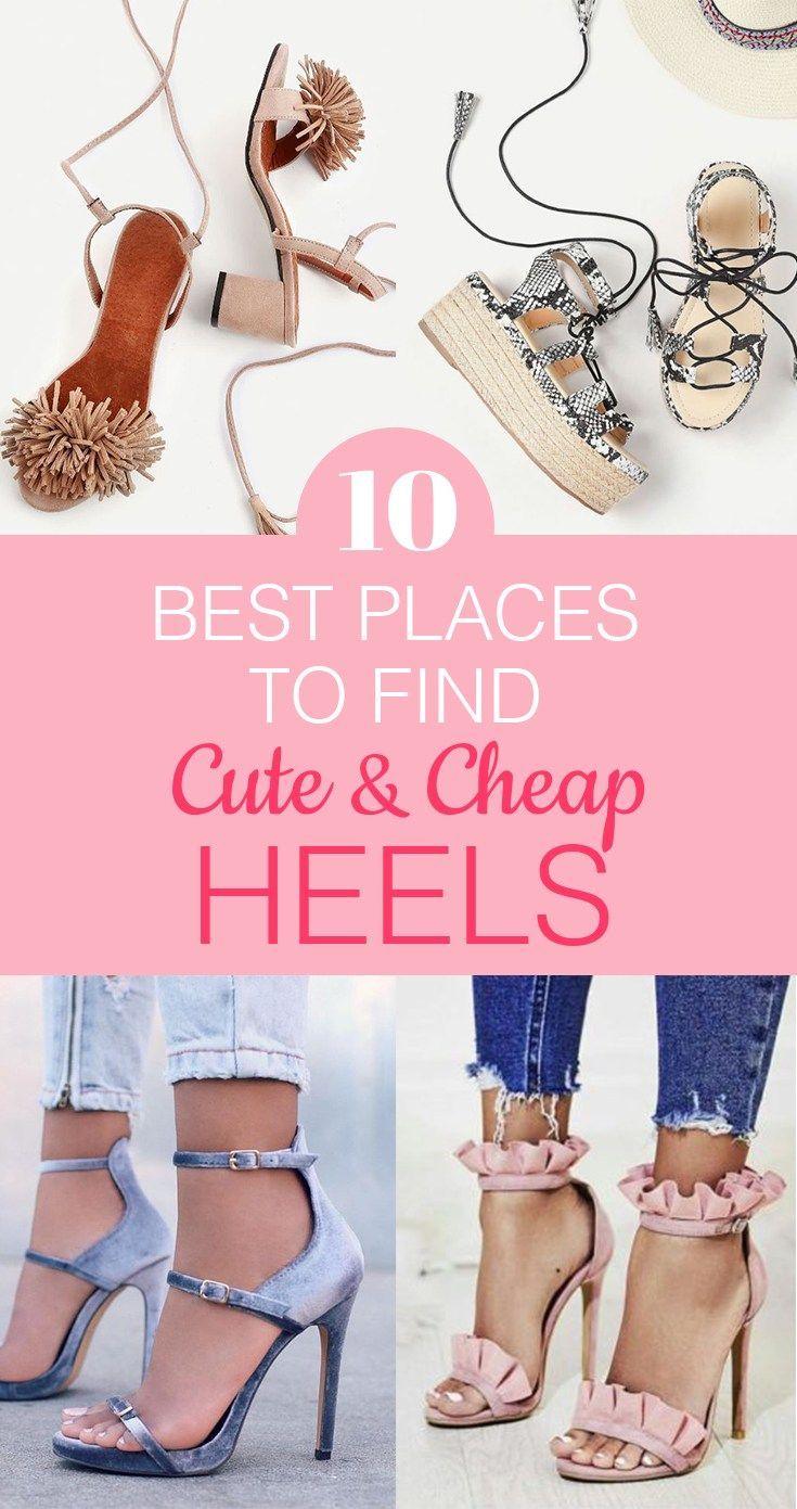 Cute Heels For Cheap Online