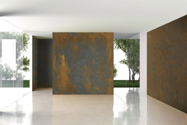 Novacolor con ironic il rivestimento decorativo per for Placche decorative per interni