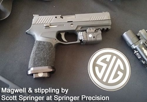 SIG SAUER's P320 grip module stands out in the industry. You can readily replace or swap grip modules for a custom fit, or to meet competition rules.
