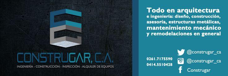 Diseño de banner firma para correo electronico. cliente: Construgar