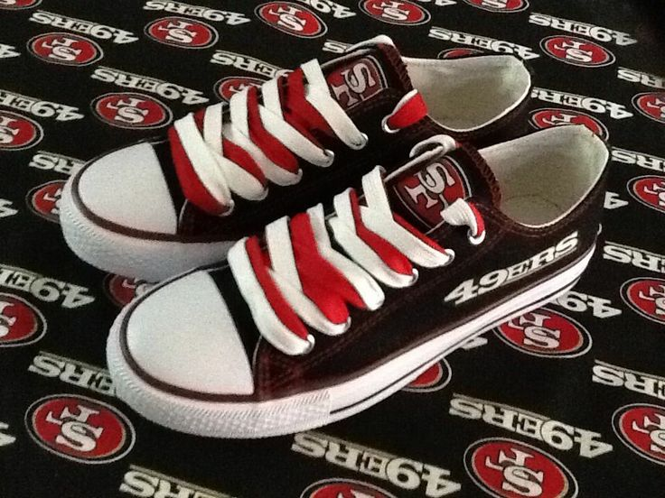 #49ers Swag SAN FRANCISCO   49ers WOMANS Tennis Shoes