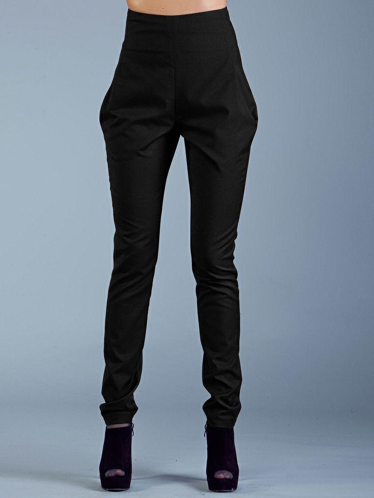 Особенности высоких штанов