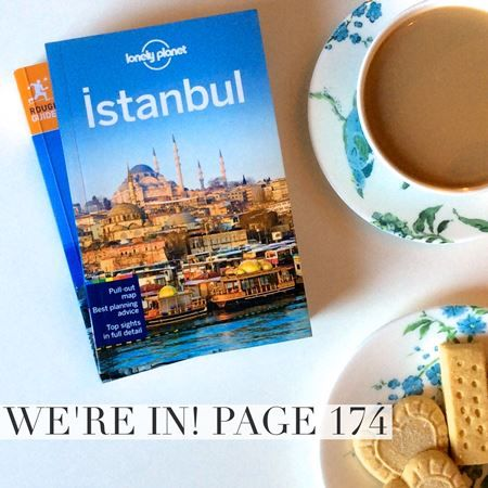 "We're in! Istanbul Place Apartments are featured in the 8th edition of Lonely Planet Istanbul ""Stylish and well-set-up apartments in the Galata district managed by an English-Turkish couple."""