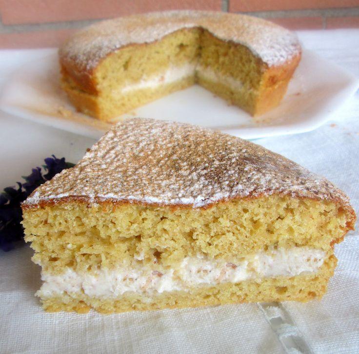 Torta alla cannella con crema di ricotta e cannella,profumata e speziata il dolce ideale per gli amanti della cannella