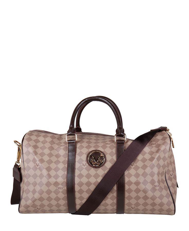 Versace 1969 abbigliamento sportivo srl milano italia - borsa da viaggio - 100%…