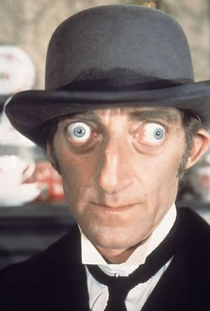Marty Feldman Bubble eyes ^^