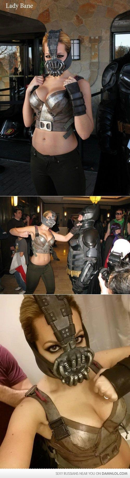 Fem-Bane cosplay. Normally bad guys aren't really my thing, haha - but this one is really good!