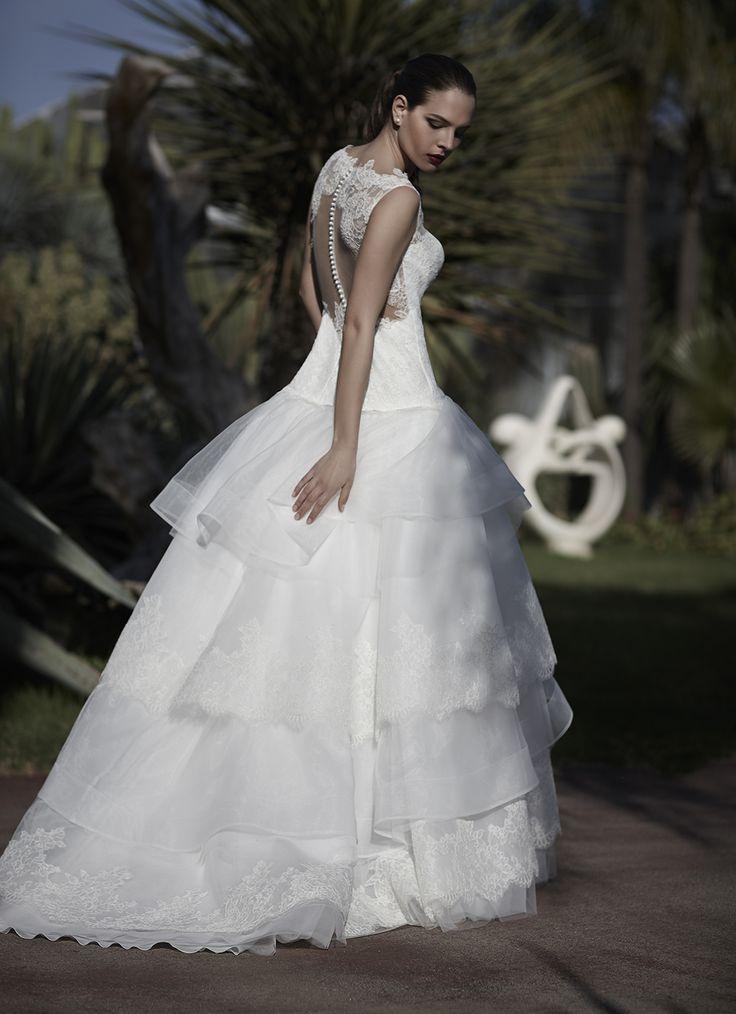 Mysecret Sposa Collezione Zaffiro Cod. 17114  #mysecretsposa #sposa #collezionesposa #abitidasposa #wedding #weddingdress #bride #abitobianco