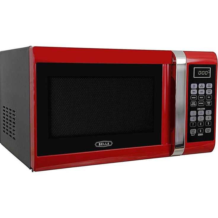Easy Clean & Cooking Microwave Oven 900 Watt & 10 Power Control Levels Red New   #DealsToaday