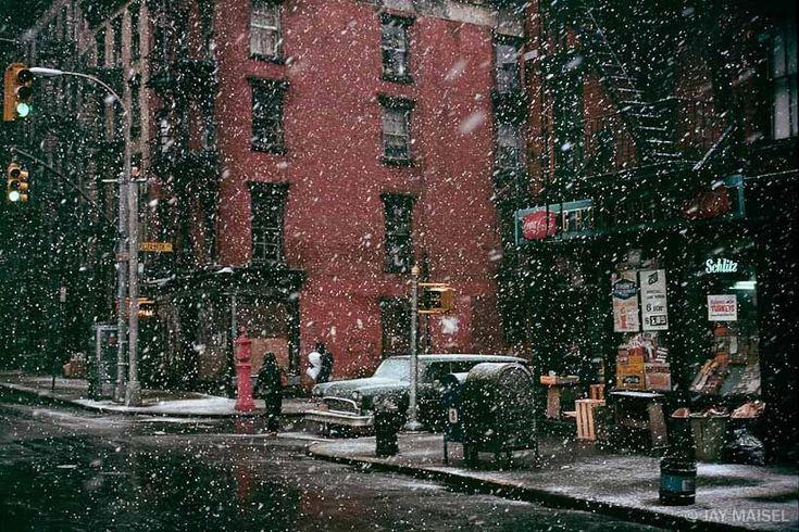 First Snow, Elizabeth Street jaymaisel.com