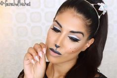 Glam Cat Makeup | 5 Easy Cat Makeup Ideas For Halloween Lazy Girls Can Get Excited About