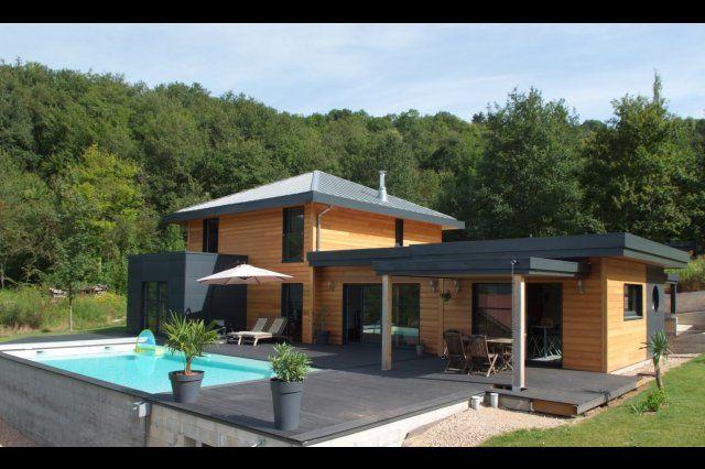 myotte duquet architecture bois reportage construction maisons ossature bois esprit zen. Black Bedroom Furniture Sets. Home Design Ideas