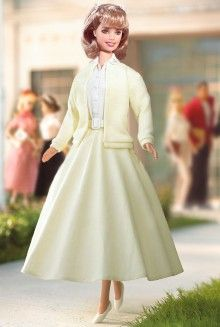Grease® Barbie® Dolls | Barbie Collector & so does this one;Actually I liked her better when she dressed sweet like this:-)