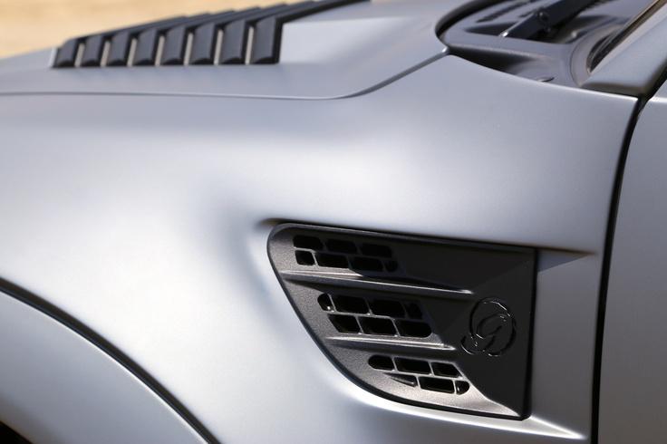 Jeep Hard Top >> Custom design CNC'ed aluminum fender and hood vents... | ICON Custom Ford Raptor | Pinterest ...