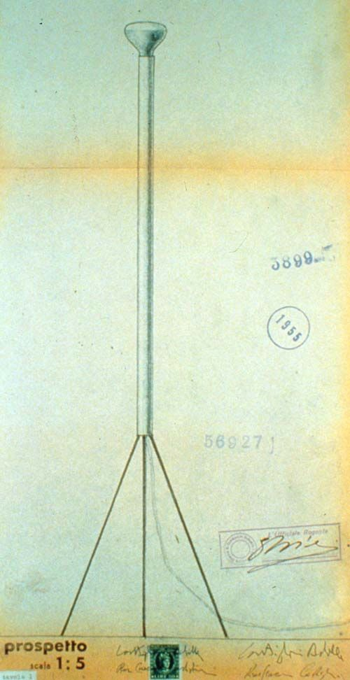 A e P. Castiglioni, Luminator, Flos, 1954