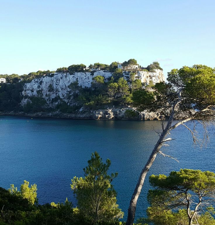 Spanish Island of Menorca in the Balearic Sea.
