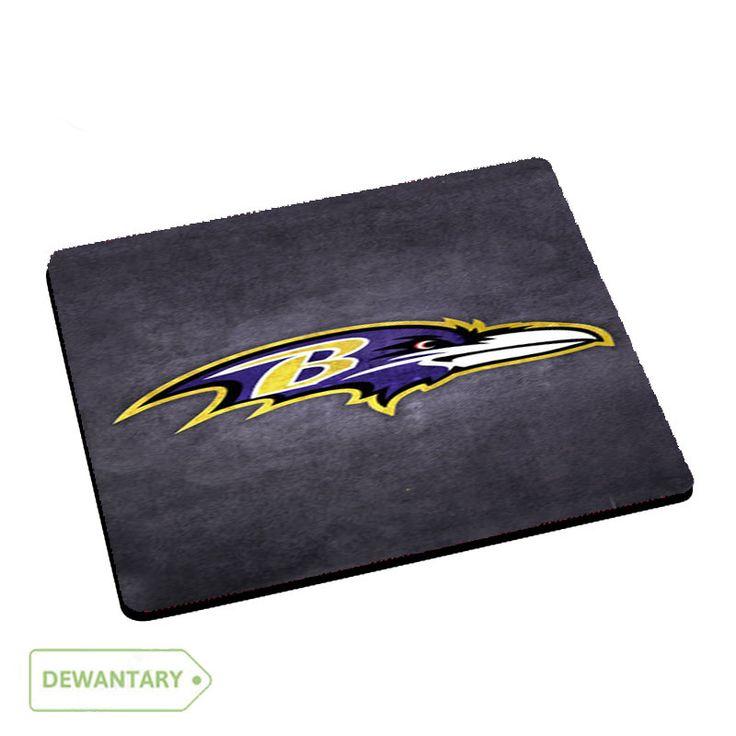 Ravens Logo Mousepad Mouse Pads Dewantary