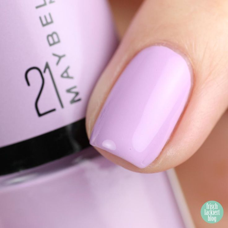Maybelline Lilac Wine 21 – swatch by frischlackiert
