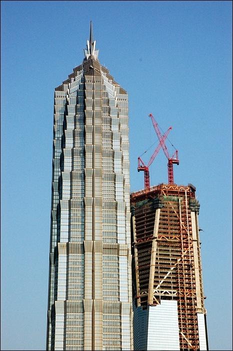 <금무대하 빌딩> 상하이 푸둥 2007.02.11