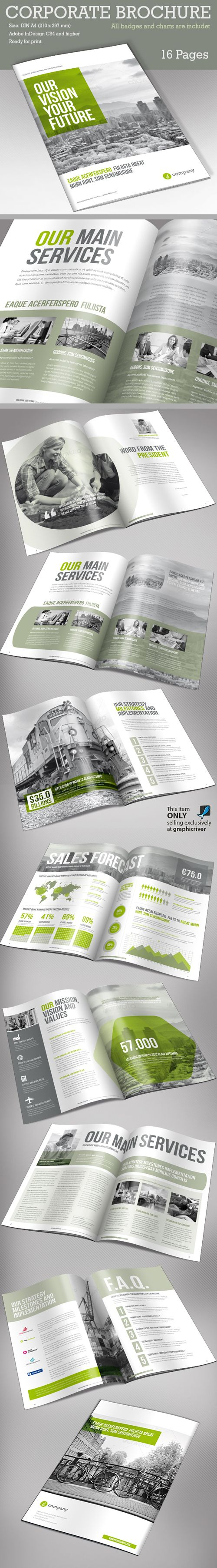 Corporate Brochure Template v