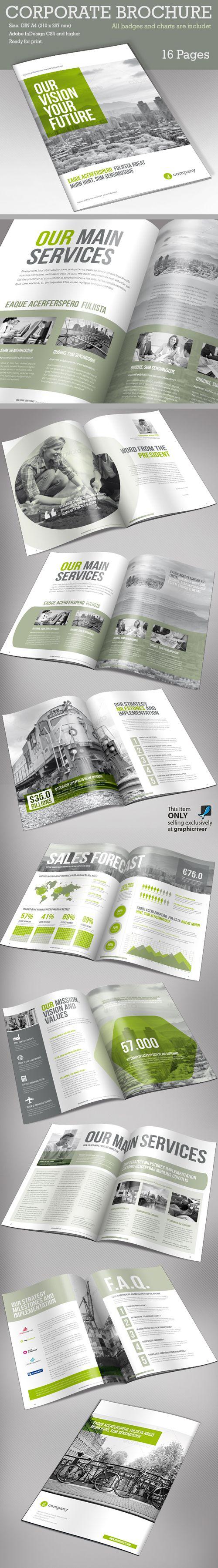 Corporate Brochure Template v