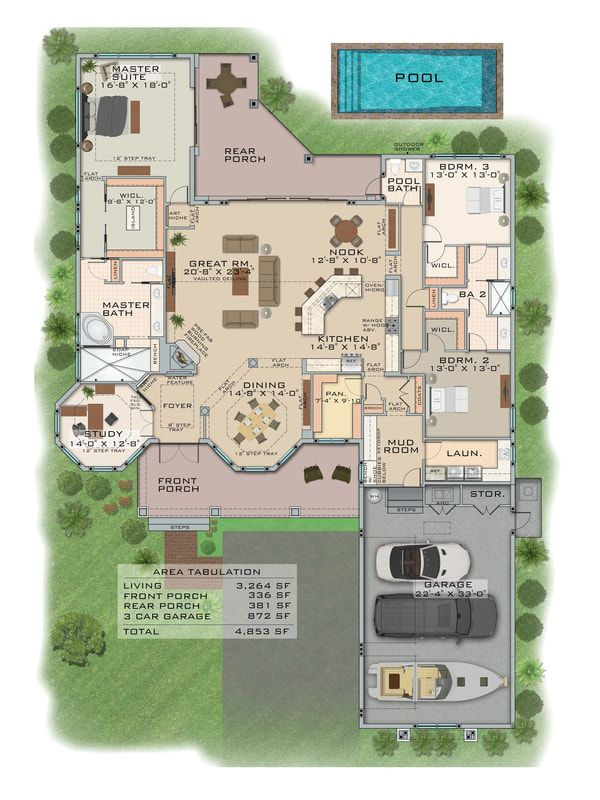 2d Color Floor Plan Service Marketing Real Estate Floor Plans Floor Plan Design Real Estate